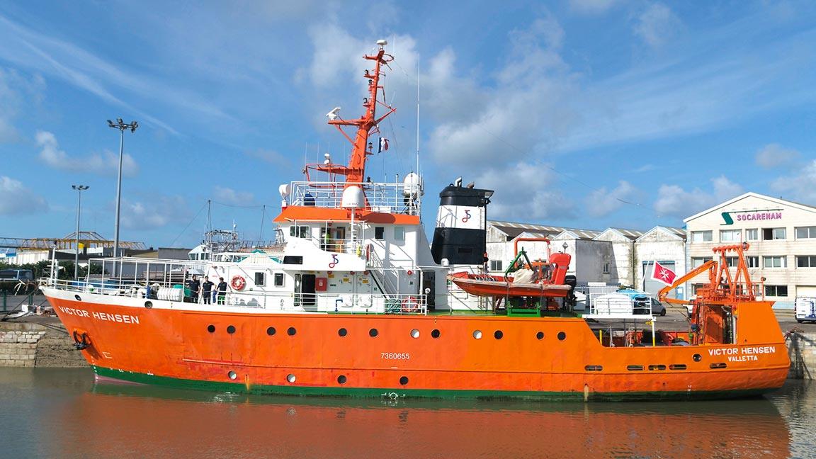 Navire Victor Hensen