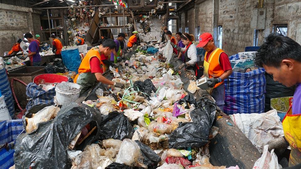 recyclage déchets plastiques thailande
