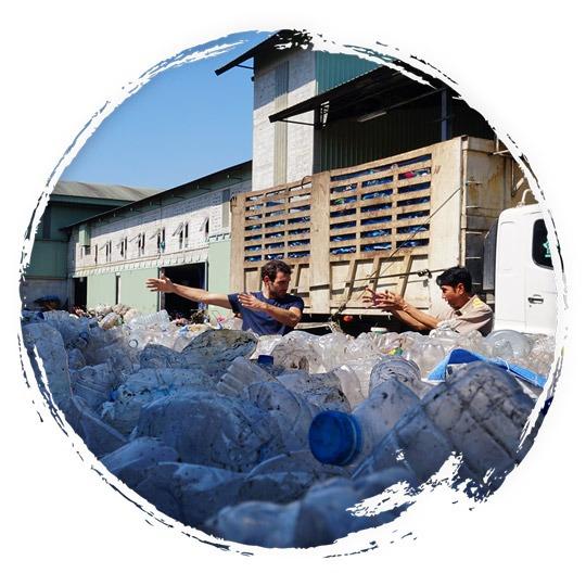 Entreprenariat dans le recyclage
