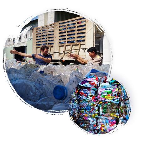 flux déchets plastiques