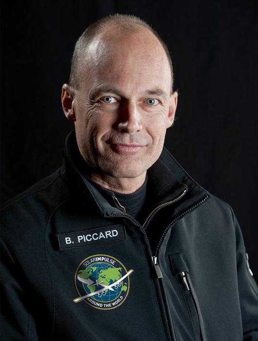 BERTRAND PICCARD solar impulse